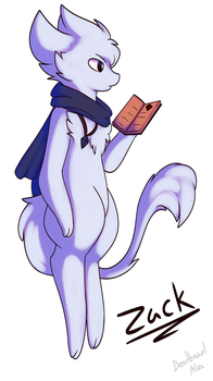 Zack the Mew by Deathxael