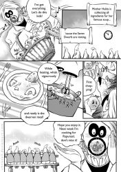 Mother Hulda comic by ChristAll