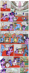 Comic: Twilight's first day #21 [Polish] by doktorwhooves