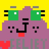 Pixel Feliey by GameyGemi