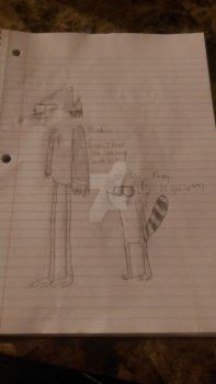 Mordecai and Rigs (Another Cruddy Drawing)