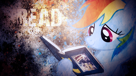 A message from Rainbow Dash by SandwichHorseArchive