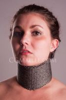 Dragonscale Posture Collar by MaillerPhong