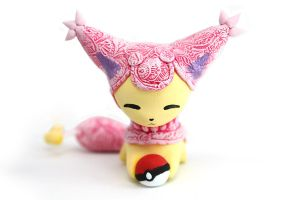One more Skitty with a Pokeball