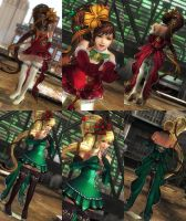 (RELEASE) XMAS OUTFIT by huchi001