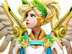 [Overwatch] Mercy : Winged Victory by Brownie-Ari