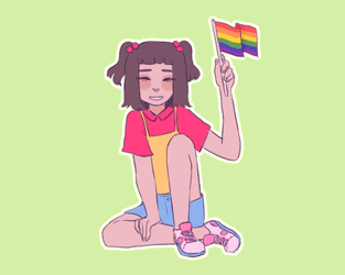 baby bangs (HAPPY PRIDE MONTH!!) by rose-guts