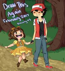 Draw This Again: 1 year by MeowMix72