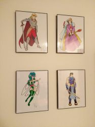 Dungeon Magic prints (art by Inspector97) by iastSA