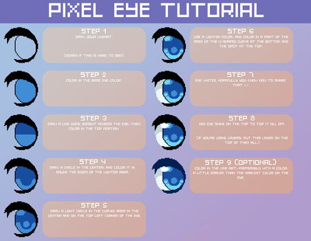Pixel Eye Tutorial by JAYWlNG