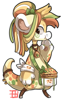 #176 Nomnom Bagbean - Pasta Auction CLOSED by griffsnuff