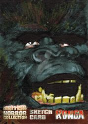 Konga Original Sketch Card 6 by westleyjsmith