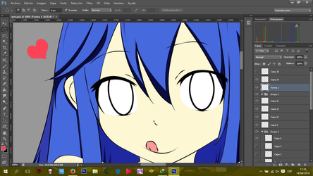 W.I.P.  wendy by sharknex