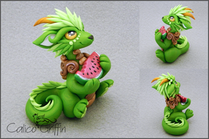 Custom: Fruit Cayo Dragon by CalicoGriffin