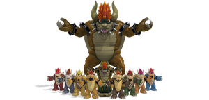 [MMD] SSB Wii U Bowser DL + by ShadowlesWOLF