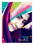 WPAP Hijaber - by @opparudy  by opparudy