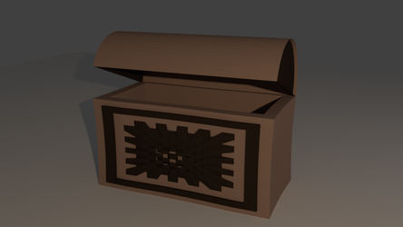 Rushed Treasure Chest for /r/Daily3D by dexter-roderick