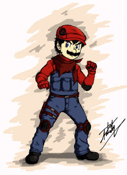 Mario Warfare by Rober2403