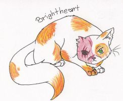 .:Brightheart:. by xBadgerclaw