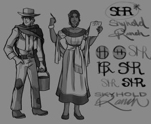 More Western Concepts by ReaperClamp