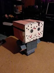 Jason Voorhees Part 4 CubeeCraft by SuperVegeta71290