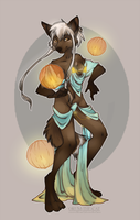 feminity and lanterns by orum-the-cat