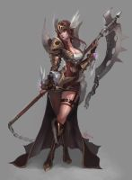 Armor of Valkyrie style by Nawol