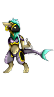 Custom Protogen for Absentia Odai by Darumemay