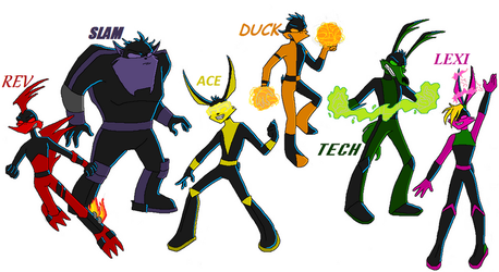 Evil Loonatics :Colored: by Phin-and-Ferb-fan101