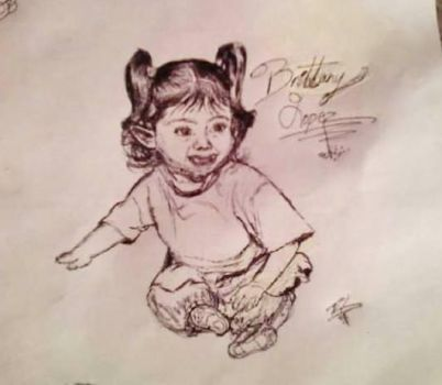 Baby Brittany Lopez by Rachey827