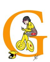 G is for Go Go Tomago by Inspector97