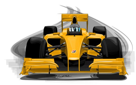 USF1 Car template view 1 by graphicwolf