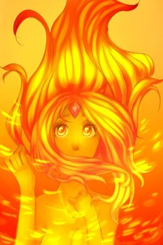 flame princess by alien-lovah