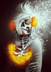 DayofTheDead Prompto by Numinoceur
