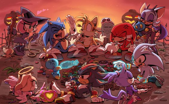Pumpkin Hill Halloween Party by Shira-hedgie