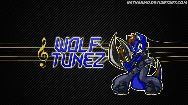 WolfTunez - YouTube Banner by NathanMD
