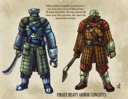 Heavy Pirate Armor by Onikaizer