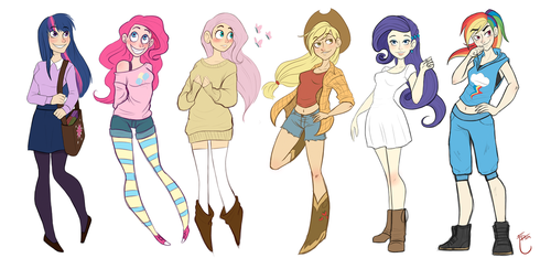 My Little Pony - Friendship is magic by MilyRage