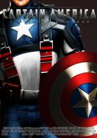 Captain America Poster by Alex4everdn