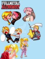 Badge Buddies - FMA Lovers by RegineSkrydon