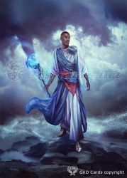 Teferi, Mage of Zhalfir by Vasylina