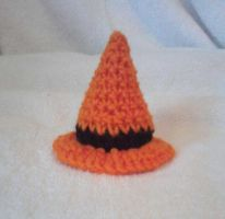 Crochet Mini Witch Hat by LilliM00