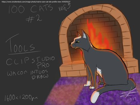 100 cats - 002 by BaileyisDarcy