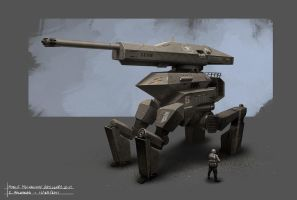 Mobile Mechanized Artillery Unit - MMAU by Balaskas