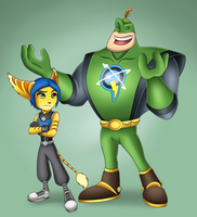 Qwark and Donna by Sofie-Spangenberg