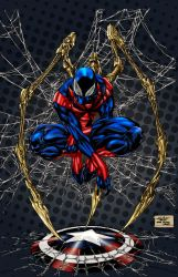 Spiderman Color by spiderguile by Pigz-n-Zen