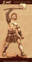 Esus the Gaul by creative-drive