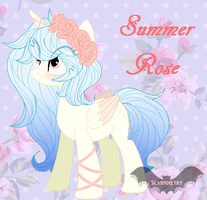 Summer Rose { Reference Sheet } by Scarmmetry