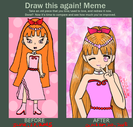 Draw it again! Meme by ChristinaBreeze13