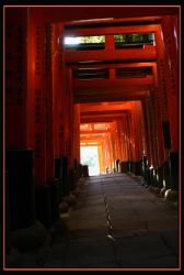 Torii by cwfineart
